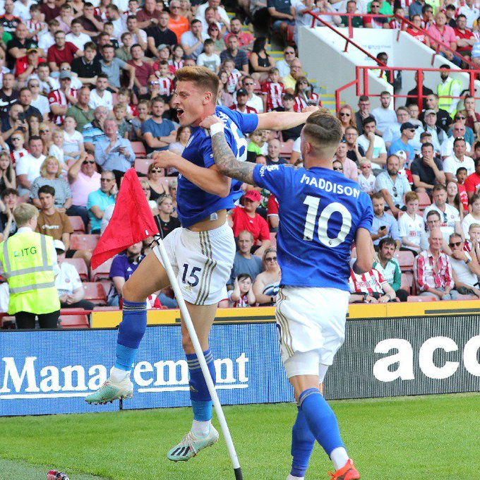 Sheffield United 1 - 2 Leicester City