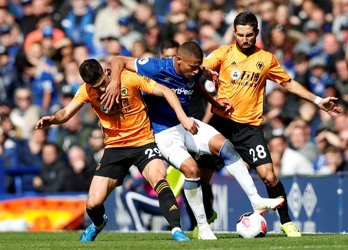 Everton 3 - 2 Wolves